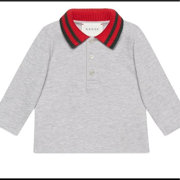 ef4bcdba Gucci Shirts & Tops   Boys Long Sleeves Polo Nwt   Poshmark